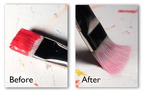 acrylic paint clean brush chris breier