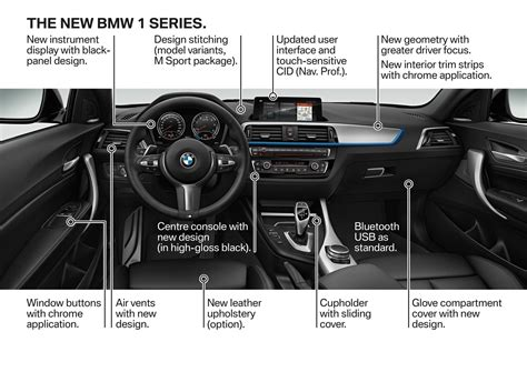 Bmw 1er 2017 Vs 2018 by 2018 Bmw 1 Series Bows With Updated Interior New Tech