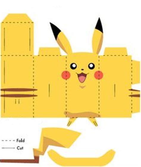 Pikachu Papercraft Template - papercraft templates easy find craft ideas