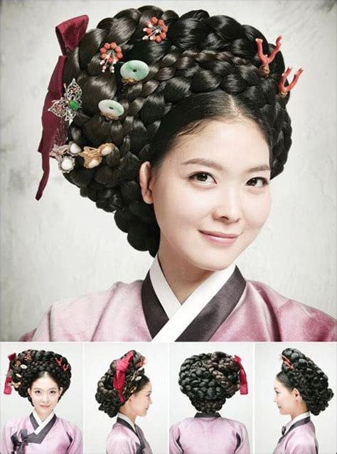 Traditional Hair | gisaeng hair korea korean awe inspired board 2
