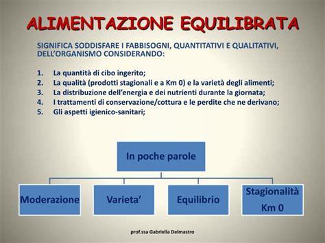 alimentazione equilibrata ppt alimentazione equilibrata powerpoint presentation