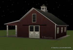 4 stall barn barn plans stall barn with lean design floor