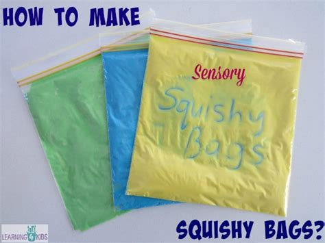 New Jelly Bag Kode Mg300 how to make squishy sensory bags learning 4