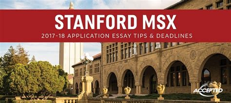 Stanford Msx And Mba by Stanford Msx Application Essay Tips Deadlines Gre Prep