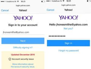 yahoo email verification required iphone set up an yahoo email account on your iphone7 1 888 335