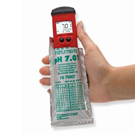 Promo Ph Meter Hi 98128 Water Resistant Accurate And Portable Azk hi 98128 pocket phep5 water resistant ph tester