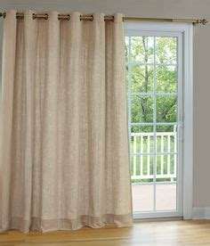 Curtains For Patio Doors With Detachable Wand by Patio Door Curtains On Patio Door Curtains