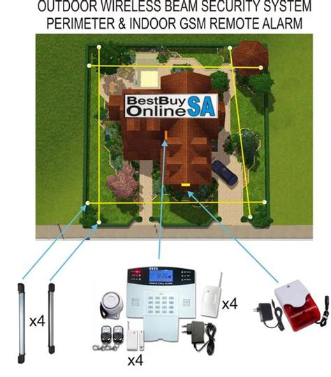 security systems outdoor wireless beam security system