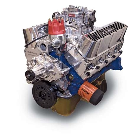 edelbrock crate motors edelbrock 45271 performer rpm 9 9 1 performance crate engine