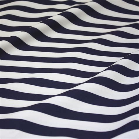 White Strif Navy navy white stripe table linen tablecloths cloth connection