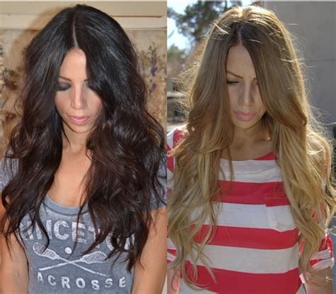 turning dark brown hair to blonde going from black hair to blonde singles and sex