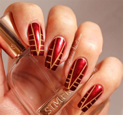 Striping Nailart nail striping by lizananails on deviantart