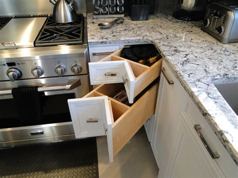 creative kitchens creative kitchen storage modern kitchen boston by