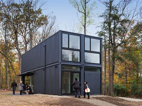 design milk shipping containers 4 shipping containers become a classroom at bard college