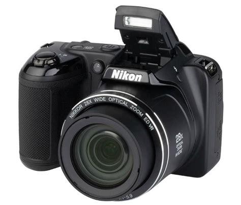 Nikon Coolpix L340 20 2mp Hitam nikon coolpix l340 20 2 mp 28x zoom digital lazada ph