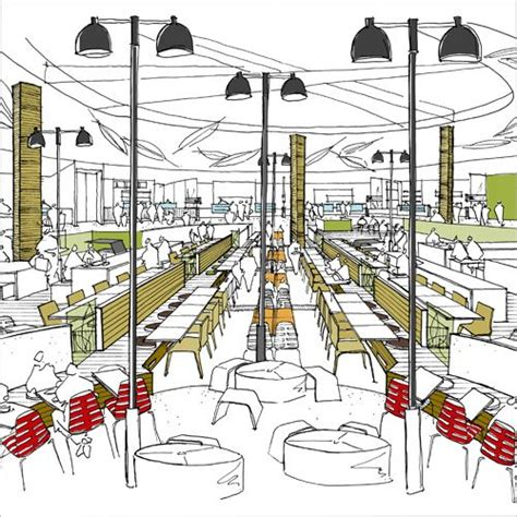layout food court mall food court design google search design