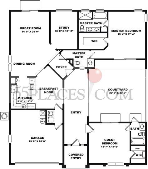 kings ridge clermont fl floor plans st ives floorplan 1735 sq ft kings ridge 55places com