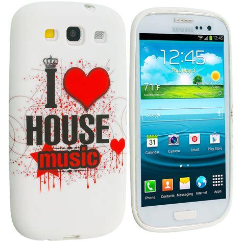 soft house music house music tpu design soft case cover for samsung galaxy s3 cellphonecases com