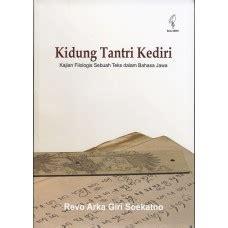Kritik Teks Jawa bahasa sastra klasik sastra populer
