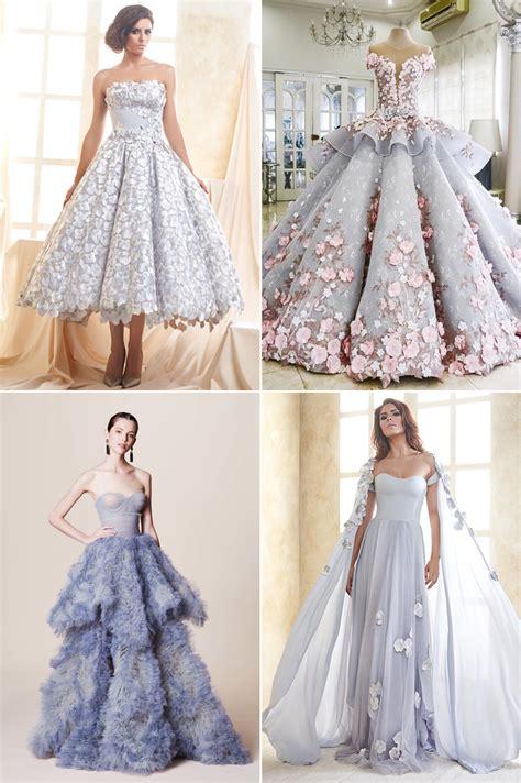 chagne colored flower dress 8 color trends for wedding reception dresses praise
