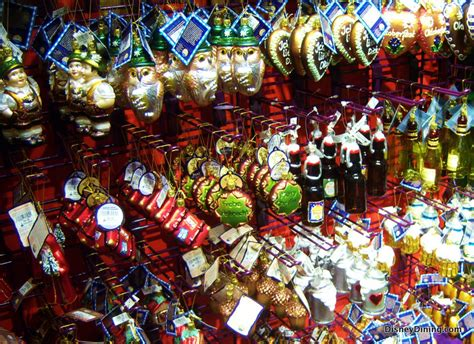 oktoberfest glass ornaments christmas shop downtown