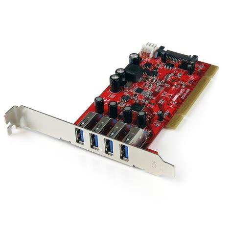 Usb Card Pci startech 4 port pci superspeed usb 3 0