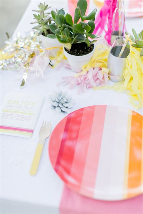eclectic coral pink and yellow wedding ideas every last detail