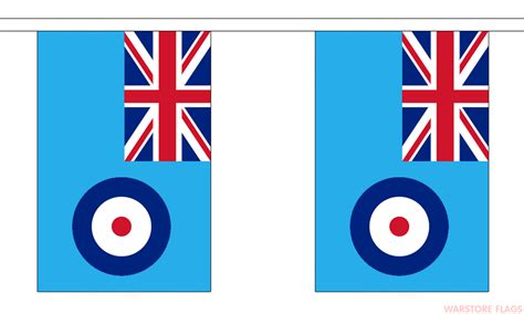 Raf Flag raf ensign bunting 18 metres 30 flags