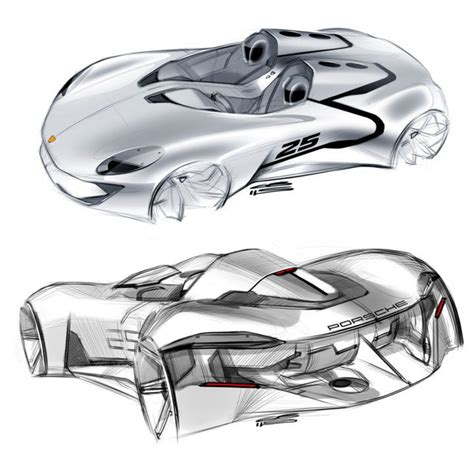 porsche concept sketch 638 best images about automotive design sketches on