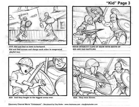 Storyboard Artist Storyboard Illustrator Storyboard Designer Commercials Film Television Adobe Illustrator Storyboard Template