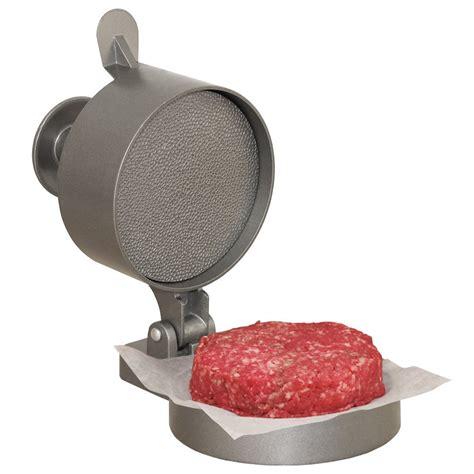 Burger Express Hamburger Press   Neat Shtuff   Neat Shtuff