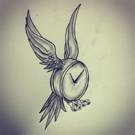 pinterest tattoo time time flies tattoo sketch by ranz pinterest time
