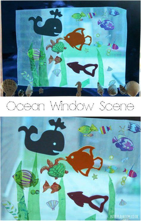 underwater crafts for window for for crafts for