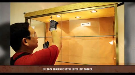 how to put glass in cabinet doors how to install sliding glass doors youtube