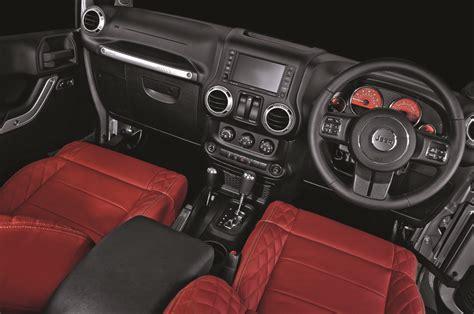 kahn jeep interior the a kahn design jeep wrangler military edition