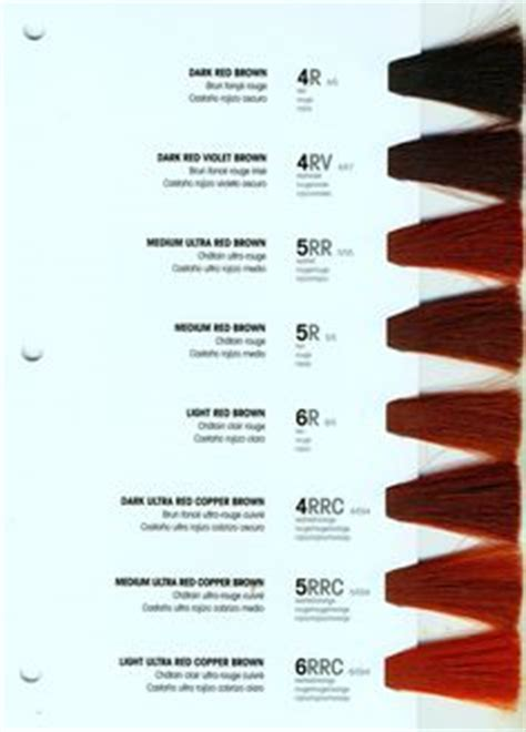 within shades of mahogani books l anza healing haircare healing haircolor shade chart