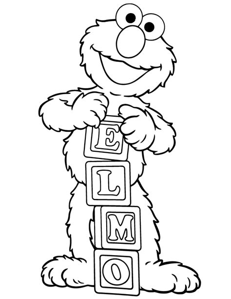 elmo coloring pages to color online free printable coloring pages elmo 2015