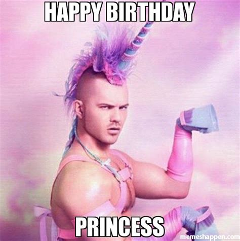 Birthday Princess Meme - happy birthday princess memes pinterest happy