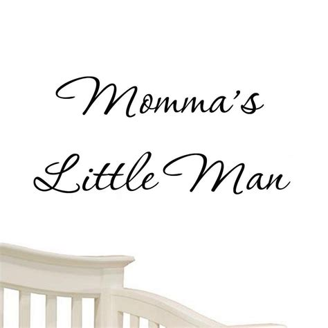 Baby Vinyl Wall Quotes momma s nursery wall decals baby quote