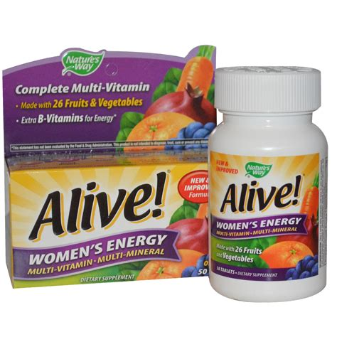 a supplement for energy nature s way alive s energy multivitamin
