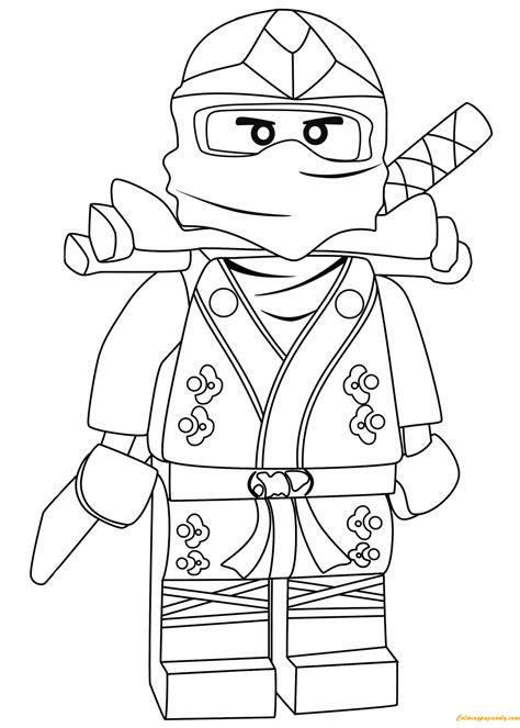 ninjago anacondrai coloring pages lego ninjago lloyd green ninja zx coloring page free