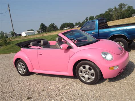 pink convertible volkswagen pink convertible volkswagen beetle mine the car
