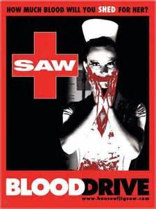 Saw Iv Wants Your Blood by 你還鋸啊 奪魂鋸7預告片 奪魂鋸系列海報大亂鋸 Mr S