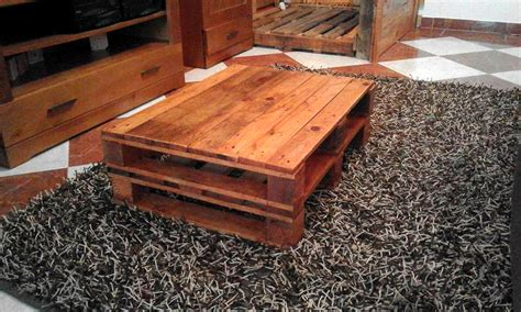 how to a coffee table out of pallets 20 diy pallet coffee table ideas