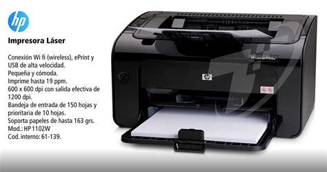 reset impresora hp laserjet pro p1102w impresora laser hp laserjet p1102w monocromatica wifi