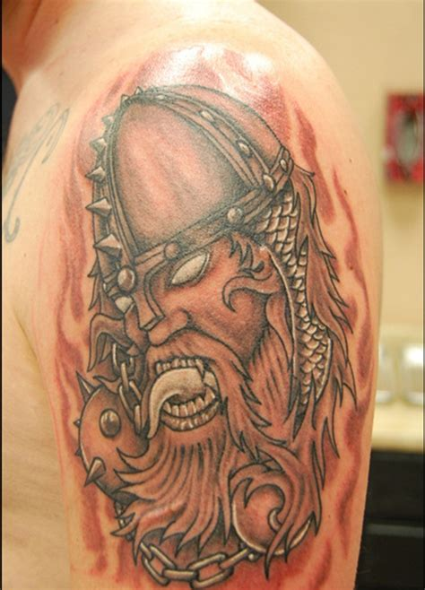 viking shoulder tattoo 37 viking shoulder tattoos
