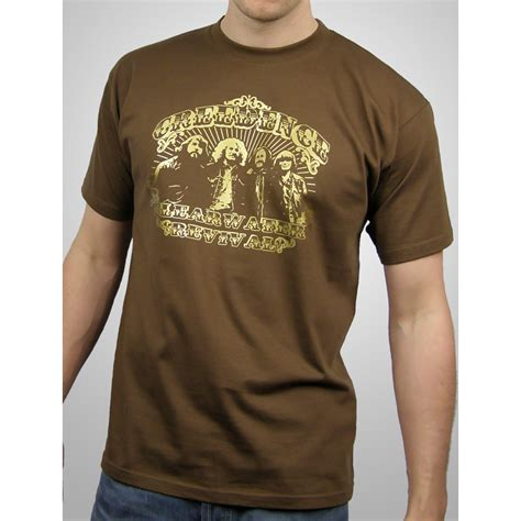 Tshirt Ccr mens creedence clearwater revival scroll t shirt