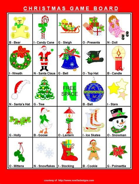 printable board games christmas game board 1
