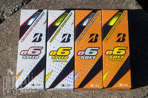bridgestone e6 swing speed bridgestone e6 speed and e6 soft golf ball review