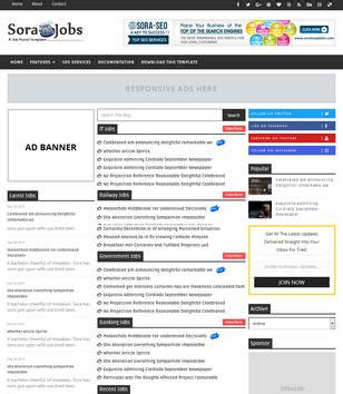 blogger templates for jobs responsive blogger templates 2017 free download